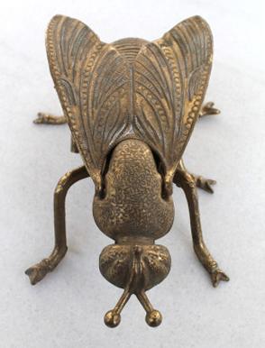 cenicero insecto mosca antigüedades