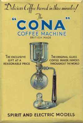 The CONA cofee machine