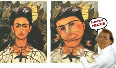 MEME ecce homo Frida entre y salga_Frida
