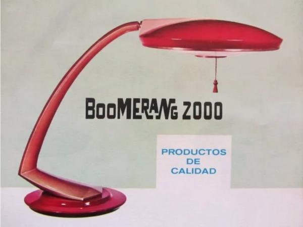 Lámpara Fase Boomerang 2000. Entre y Salga. Entreysalga